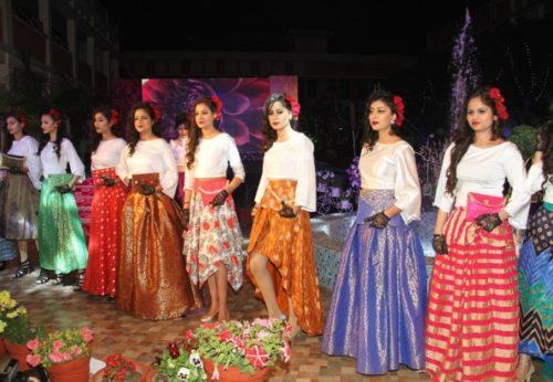Fashion Show (2017) at Kanya Maha Vidyalaya, Jalandhar (Punjab)